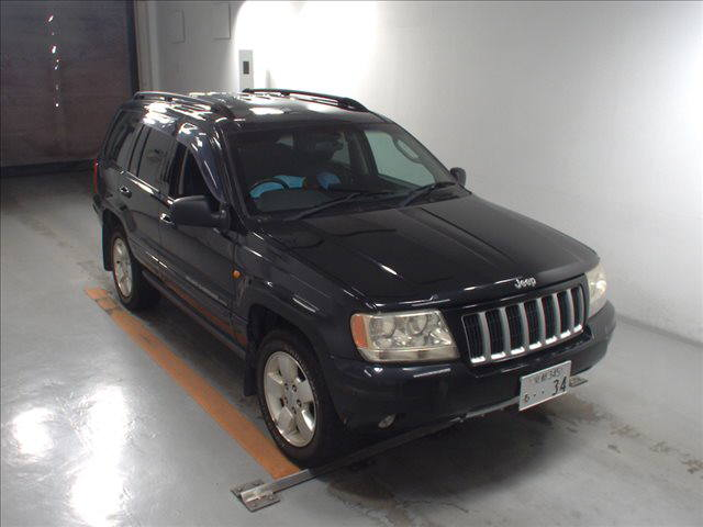 Выкуплен Jeep Grand Cherokee WG 4.7 2004 год Black
